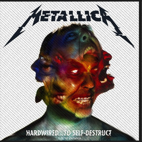 Patch Metallica Hardwired to Self Destruct
