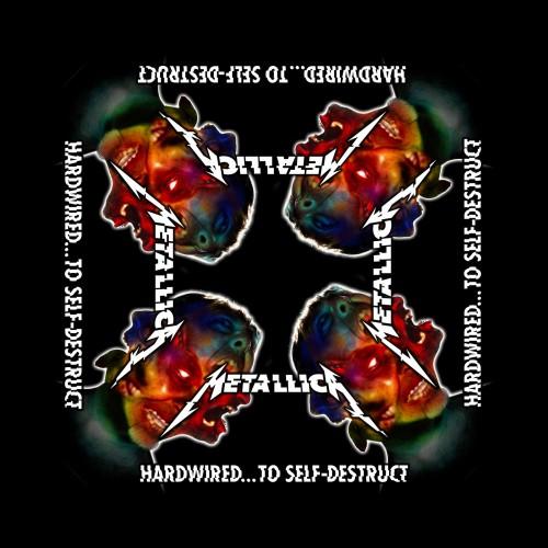 Bandană Metallica Hardwired to Self Destruct