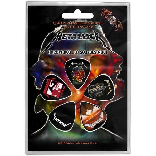 Set Pene Chitara Metallica Hardwired to self-destruct