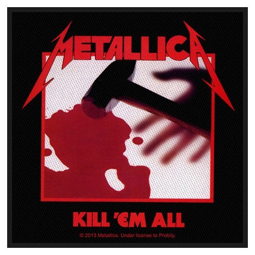 Patch Metallica Kill 'em all