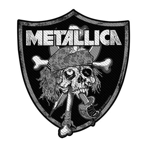 Patch Metallica Raiders Skull