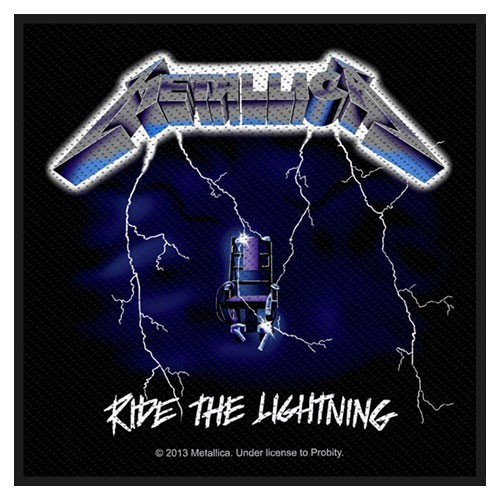 Patch Metallica Ride the Lightning