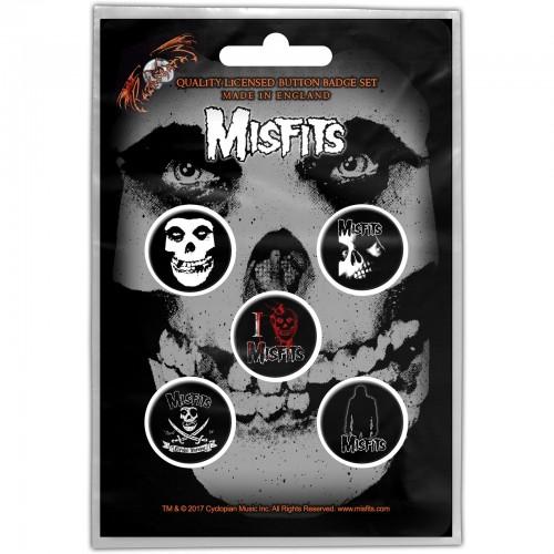 Set Insigne Misfits Skull