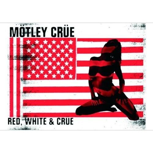 Carte Postală Motley Crue Red & White