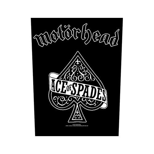 Back Patch Motorhead Ace Of Spades