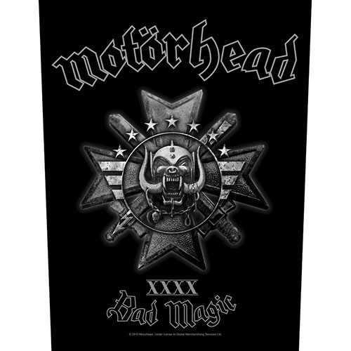 Back Patch Motorhead Bad Magic