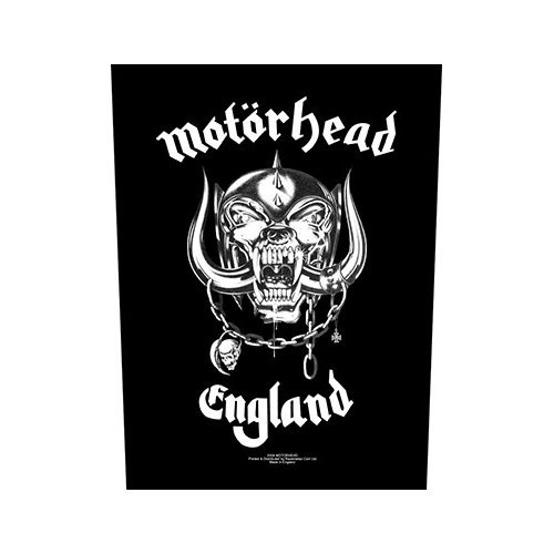 Back Patch Motorhead England