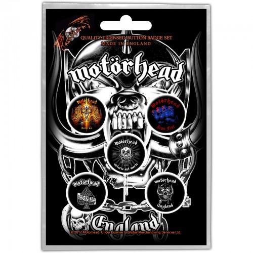 Set Insigne Motorhead England