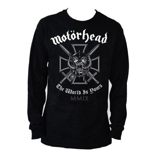 Tricou mânecă lungă Motorhead Iron Cross