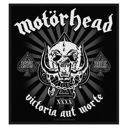 Patch Motorhead Victoria aut Morte 1975 - 2015