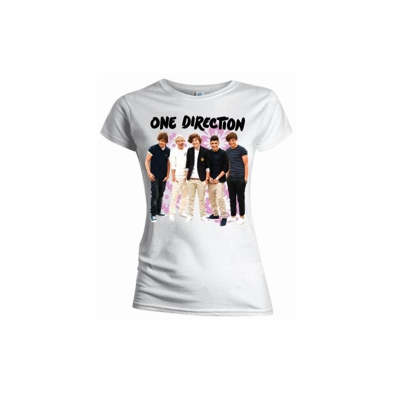 Tricou Damă One Direction Flowers
