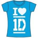 Tricou Damă One Direction I Love
