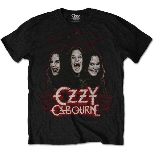 Tricou Ozzy Osbourne Crows & Bars