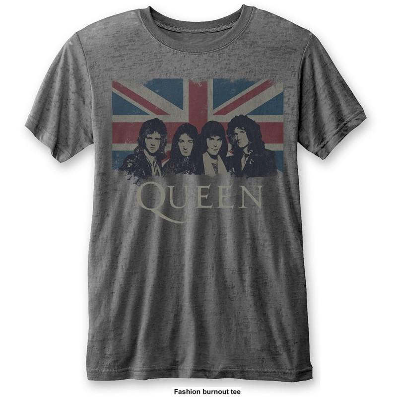Tricou Queen Vintage Union Jack