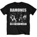 Tricou Ramones CBGB 1978