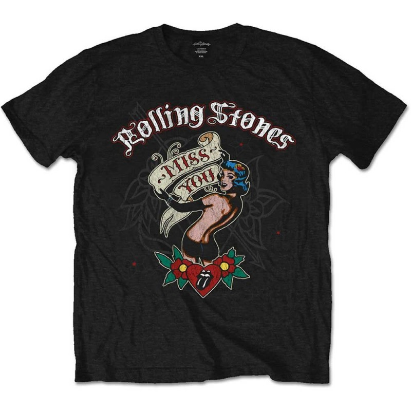 Tricou The Rolling Stones Miss You