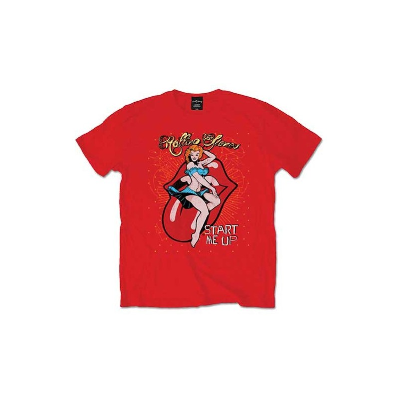Tricou The Rolling Stones Start me up