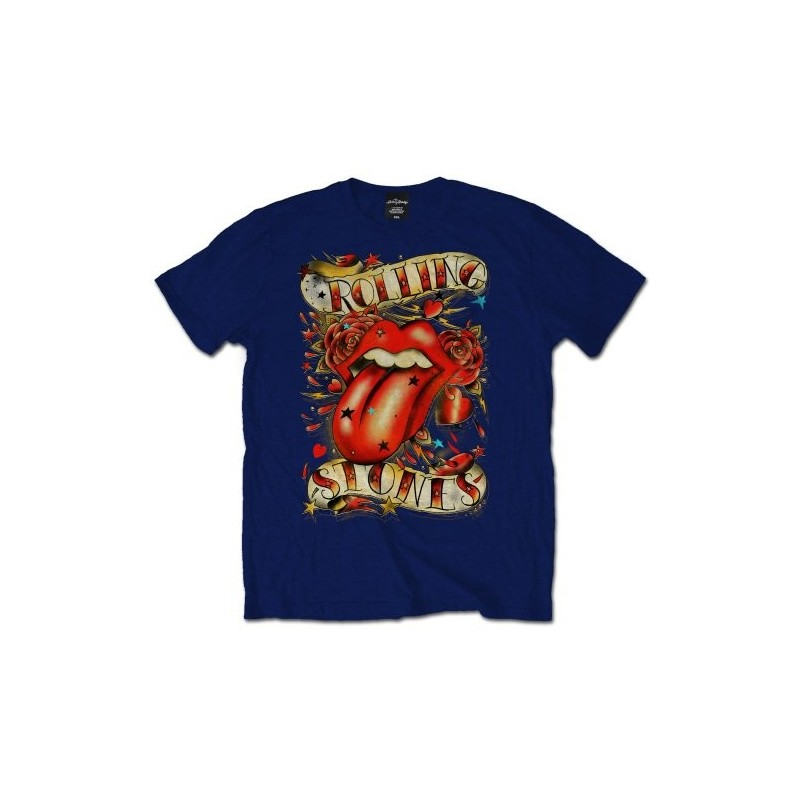 Tricou The Rolling Stones Tongue & Stars