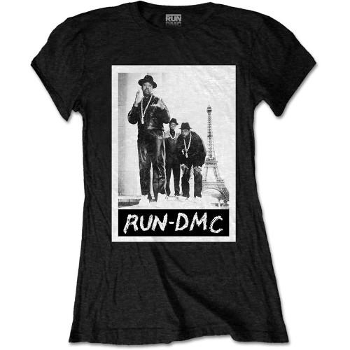 Tricou Damă Run DMC Paris Photo