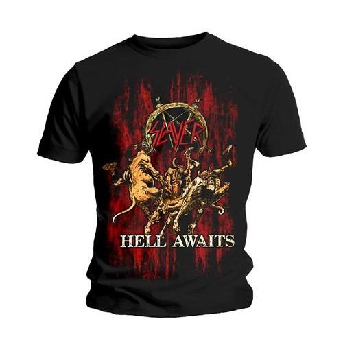 Tricou Slayer Hell Awaits