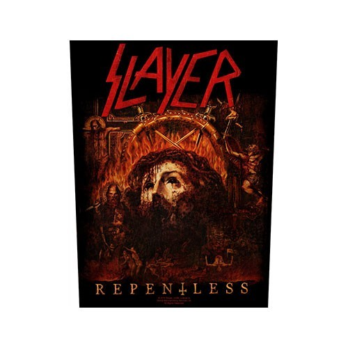 Back Patch Slayer Repentless