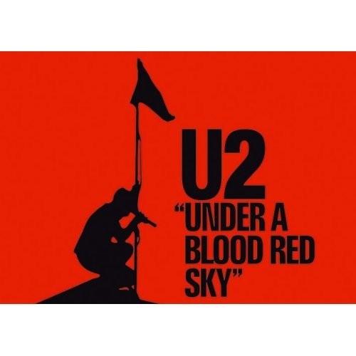 Carte Postală U2 Under a Blood Red Sky
