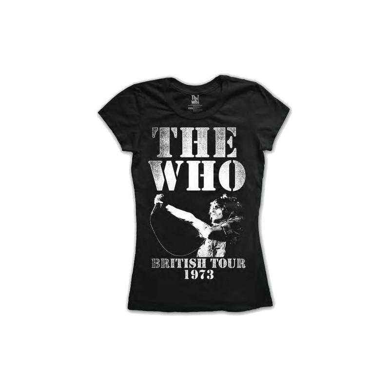 Tricou Damă The Who British Tour 1973