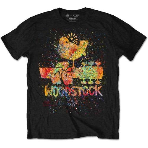 Tricou Woodstock Splatter