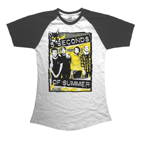 Tricou Damă 5 Seconds of Summer Splatter
