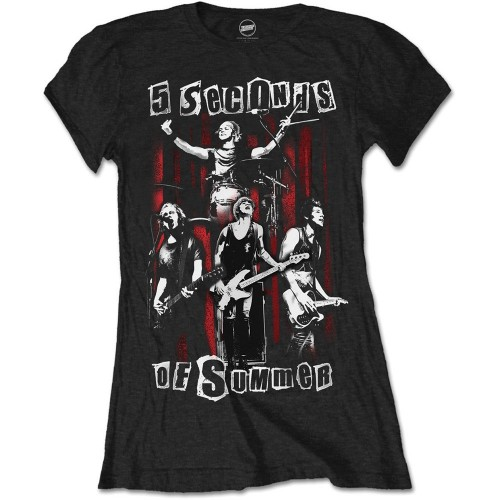 Tricou Damă 5 Seconds of Summer Spray Live