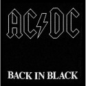 Patch AC/DC Back in Black