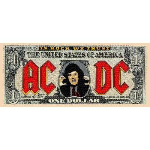 Patch AC/DC Bank Note