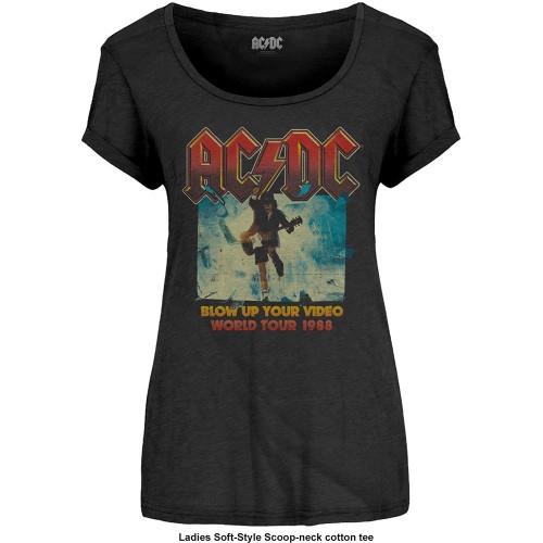 Tricou Damă AC/DC Blow Up Your Video