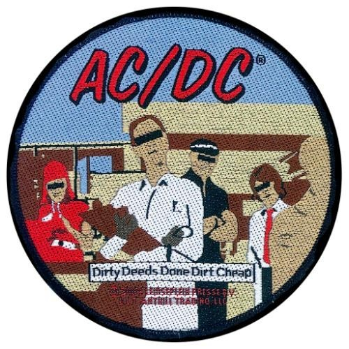 Patch AC/DC Dirty Deeds