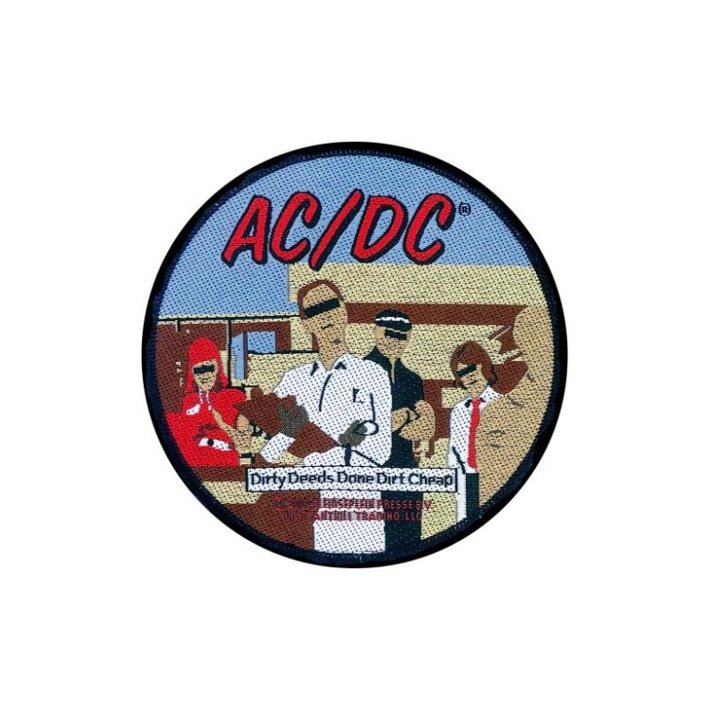 Patch AC/DC Dirty Deeds