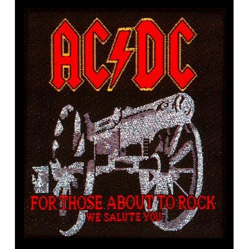 Patch AC/DC For those about to Rock