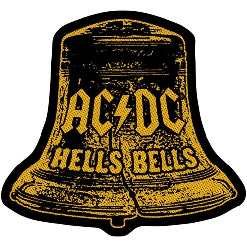 Patch AC/DC Hells Bells Cut Out