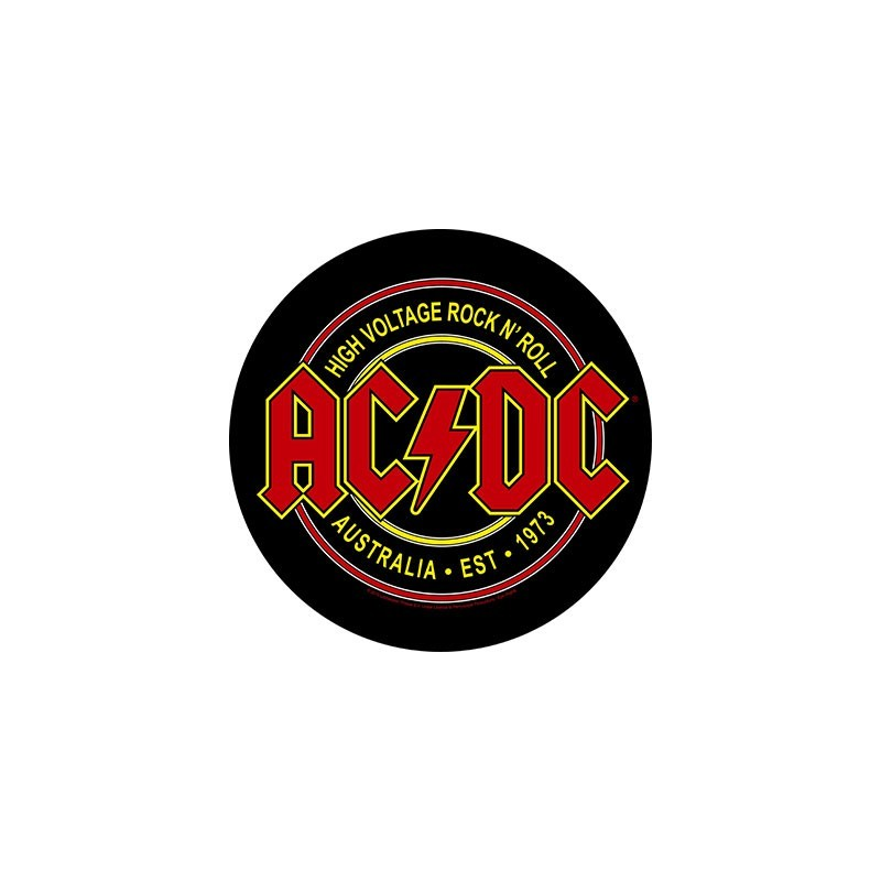 Back Patch AC/DC High Voltage Rock N Roll
