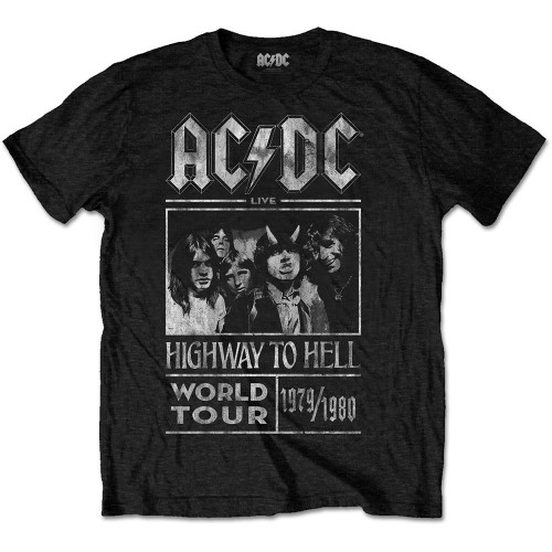Tricou AC/DC Highway to Hell World Tour 1979/1980