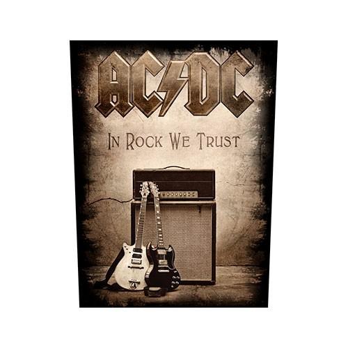 Back Patch AC/DC In Rock We Trust