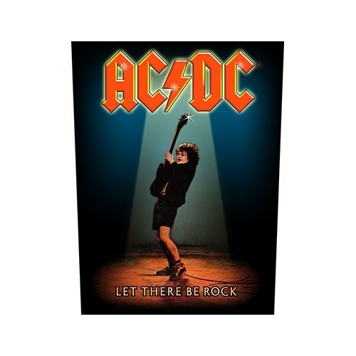 Back Patch AC/DC Let There Be Rock