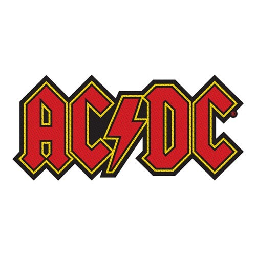 Patch AC/DC Logo Cut-out