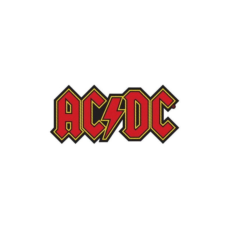 Patch AC/DC Logo Cut-out