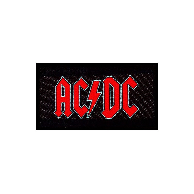 Patch AC/DC Red Logo