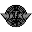 Patch AC/DC Rock N Roll Will Never Die Cut-Out