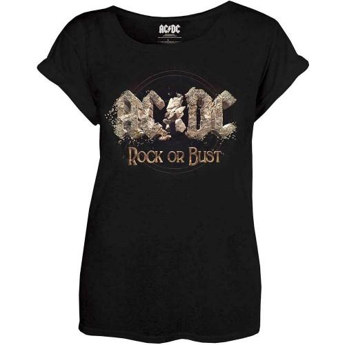 Tricou Damă AC/DC Rock or Bust