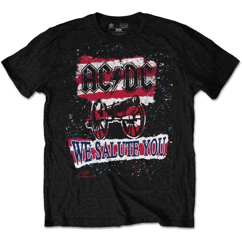 Tricou AC/DC We Salute You Stripe