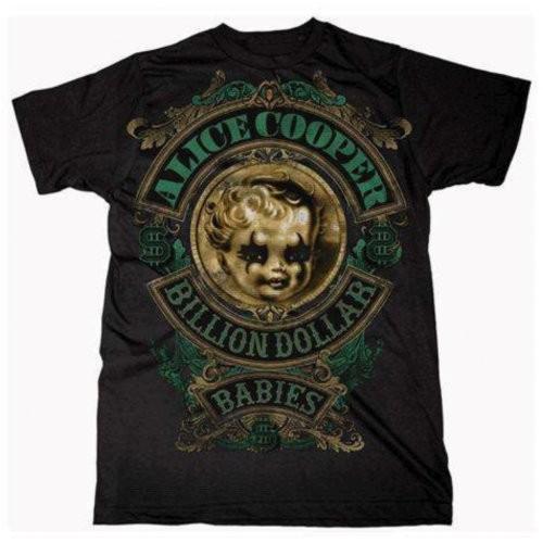 Tricou Alice Cooper Billion Dollar Baby Crest