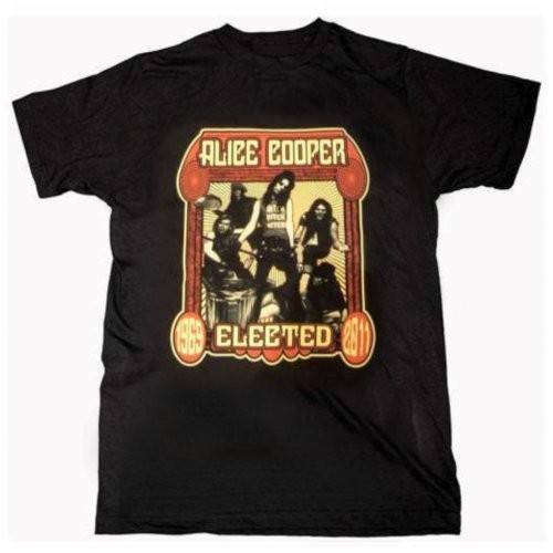 Tricou Alice Cooper Elected Band