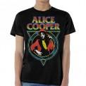 Tricou Alice Cooper Snake Skin